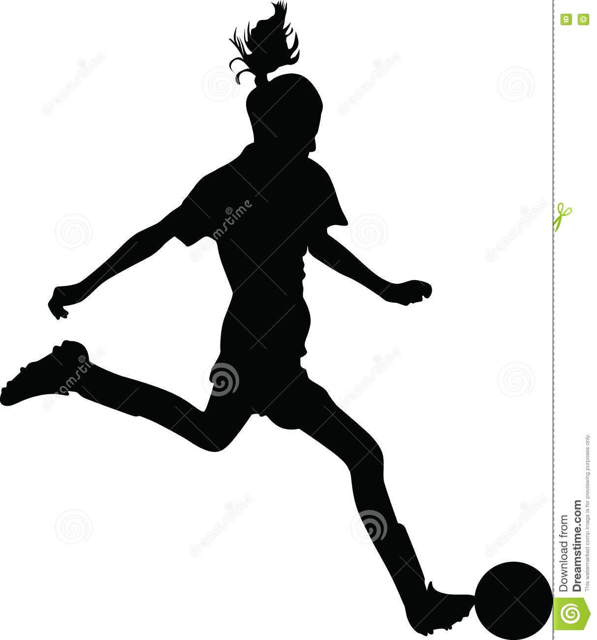 Woman Soccer Player Download From Over 62 Million High Quality Stock Photos Images Vectors Sign Up For Free Soccer Silhouette Womens Soccer Soccer Players