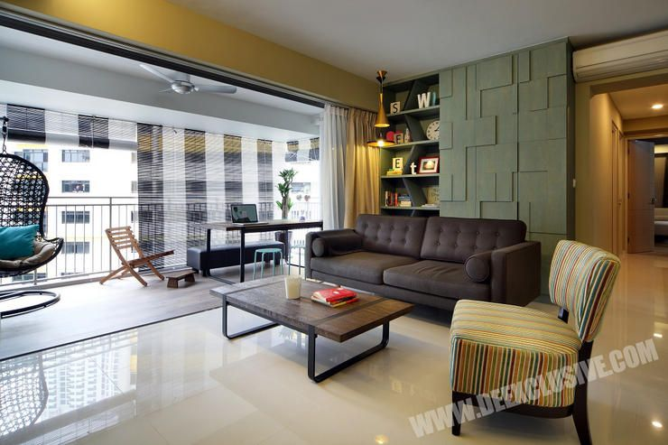 Superb Home Decor Ideas Singapore Part - 9: Idea For Balcony + Storage Feature Wall