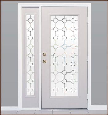 Lookout One Way Film Wallpaper For Windows Glass Door Coverings Front Doors With Windows Door Coverings