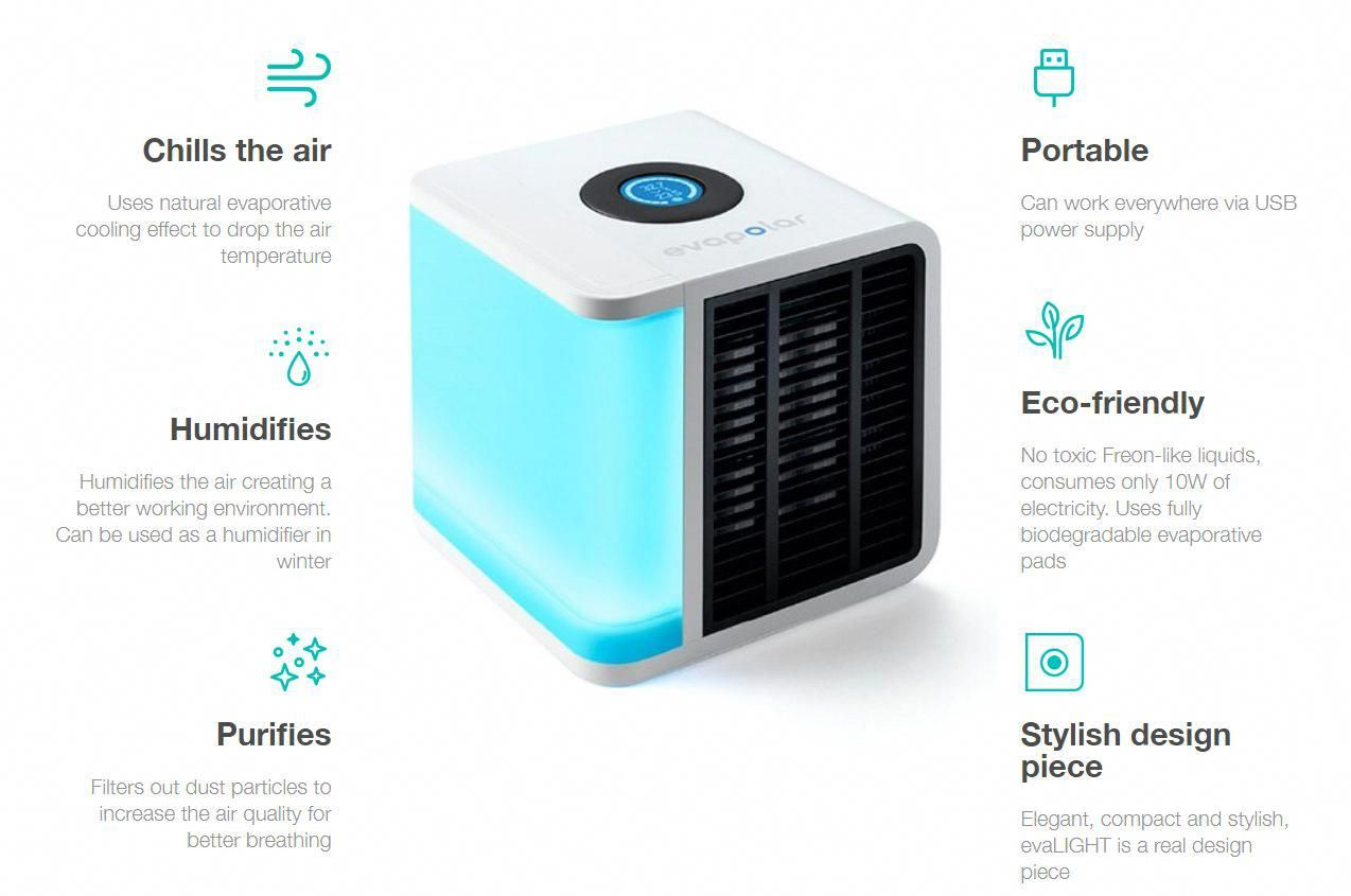 Smart Personal Air Conditioner Dry Climates Portable Air Cooler