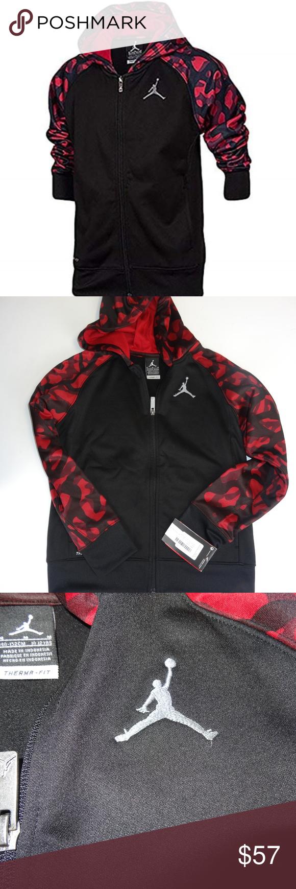 44c8c3bdc08438 Nike Jordan Boys AJ Camo Full-Zip NWT Nike Jordan Little Boys AJ Camo Full