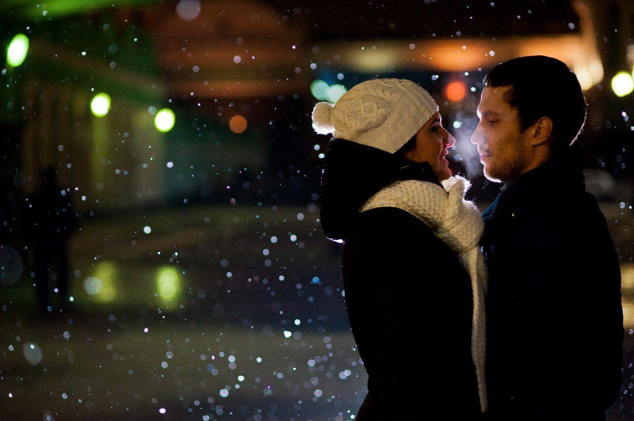 Зимние встречи картинки