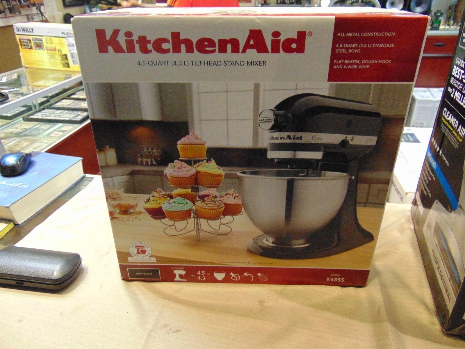 Countertop mixers 133701 kitchen aid mixer k45ss 275 watt