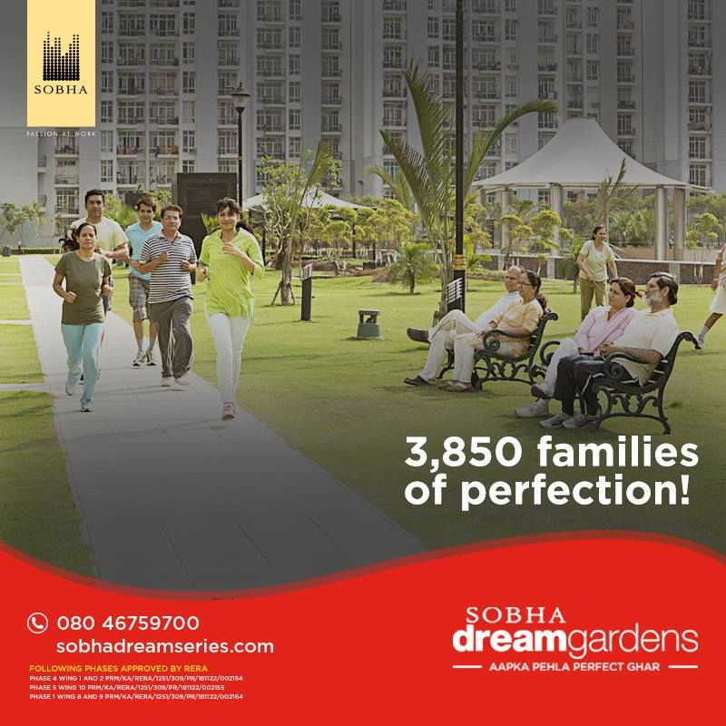Sobha Dream Gardens Dream Garden Apartments For Sale First Home Buyer