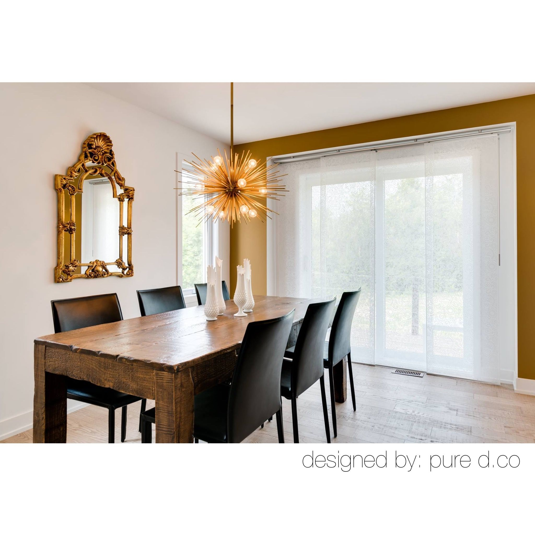 White And Gold Dining Room By Ppryce From Pure D Co It Makes Our