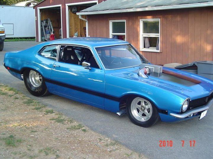 1971 Ford Maverick Pro Street Ford Maverick Ford Fairlane