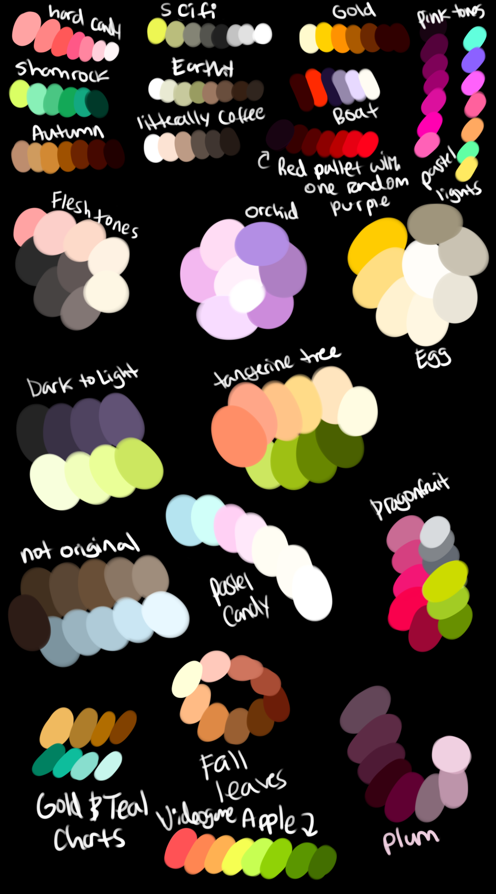 More Free Palettes by GreaserDemonDesign on DeviantArt in