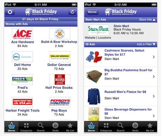 Money-Saving Apps for Black Friday Black friday