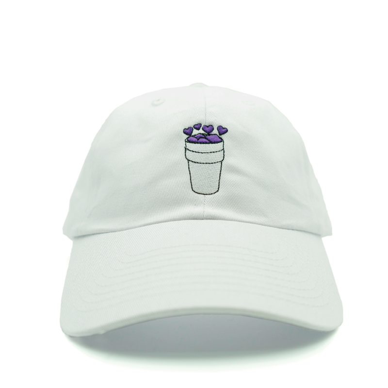 10511bc2 Double Cup Love Dad Hat - Relaxed adjustable hat - Double Cup Love  embroidered on the front - 6-panel - Solid colorway - 100% cotton