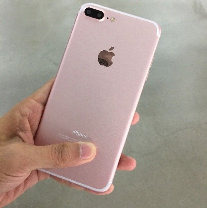 Dugaan Bocoran Iphone 7 Plus Rose Gold Dengan Setup Dua Kamera