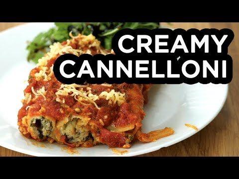 Creamy cannelloni bosh vegan recipe youtube food vegan foods creamy cannelloni bosh vegan recipe youtube forumfinder Images