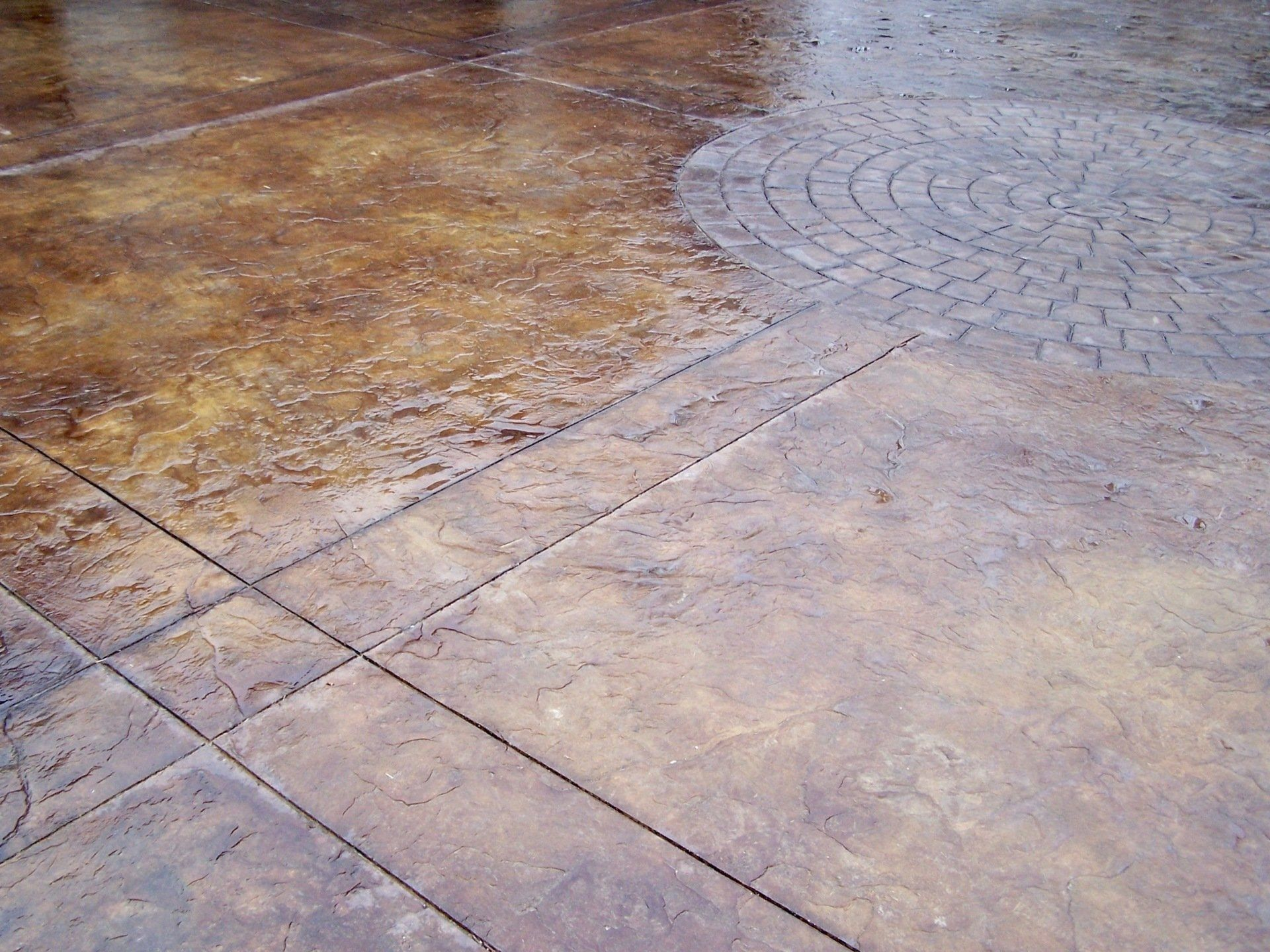 Pin On Stamped Concrete