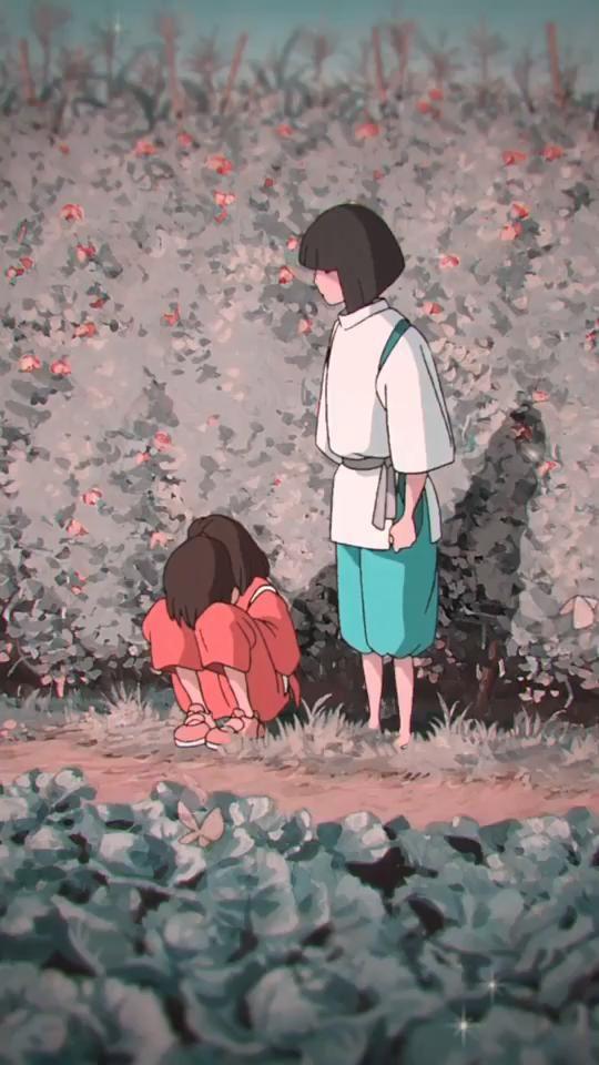 Haku/chihiro Moments.