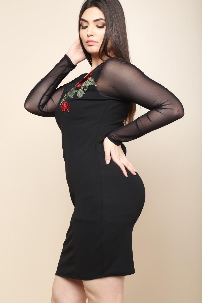 Cute Plus Size Junior Dresses   Saddha