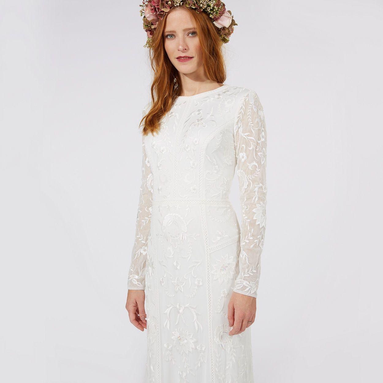 Nine by savannah miller ivory lace bridal dress debenhams nine by savannah miller ivory lace bridal dress debenhams ombrellifo Gallery