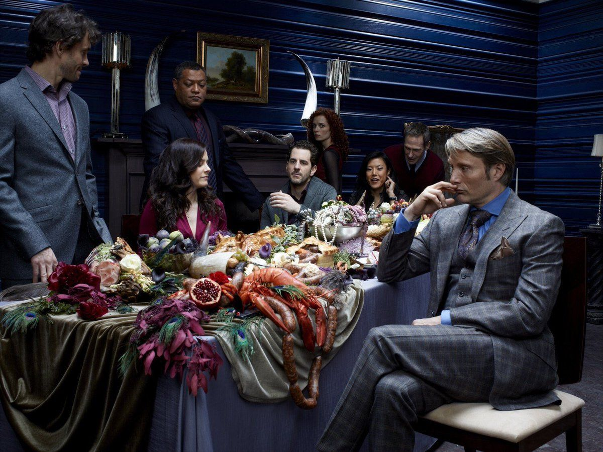 It looks like no one is including hannibal in the table conversation rude murder husbands - Hannibal tv series actors ...