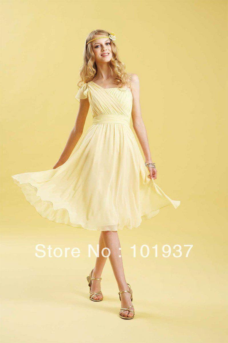 Short Yellow Bridesmaid Dresses Google Search Bluebridesmaiddressesshort Yellow Bridesmaid Dresses Cocktail Dress Yellow Short Bridesmaid Dresses