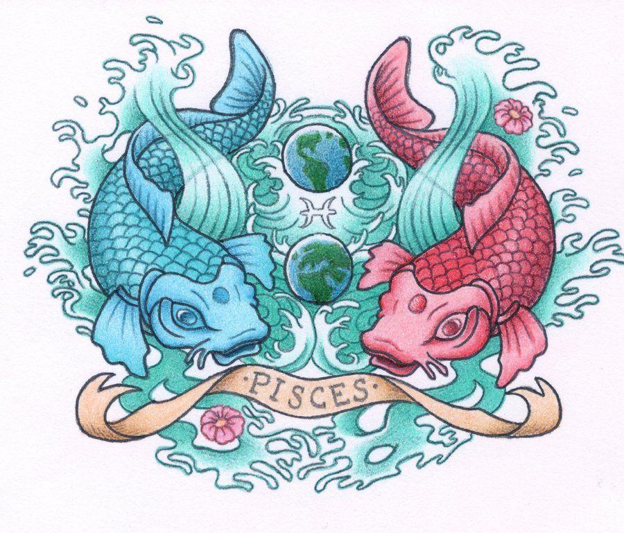 Pisces Koi Tattoo (for Dee)