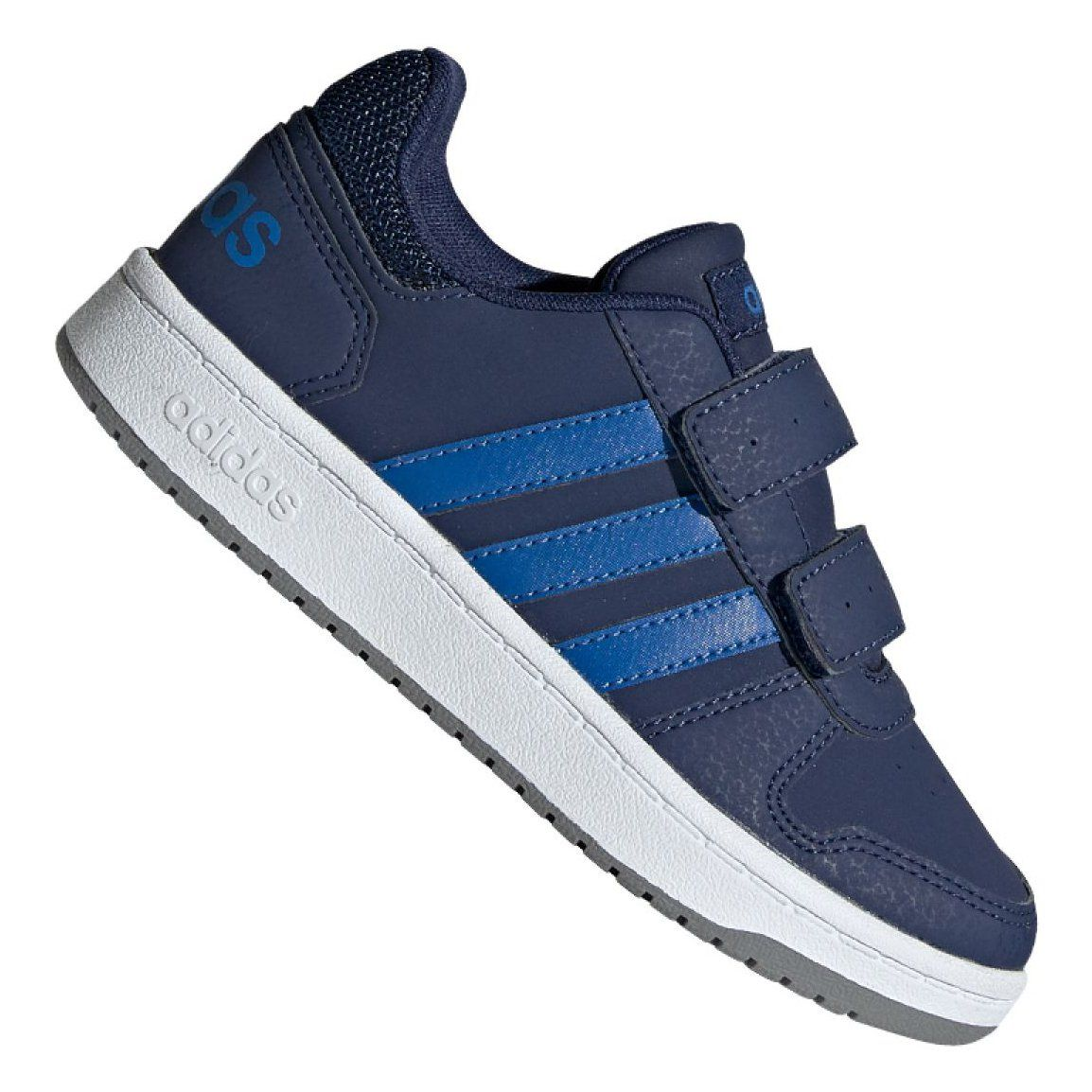 Buty Adidas Hoops 2 0 Cmf C Jr Ee9000 Granatowe Adidas Outfit Shoes Adidas Shoes Outlet Shoes