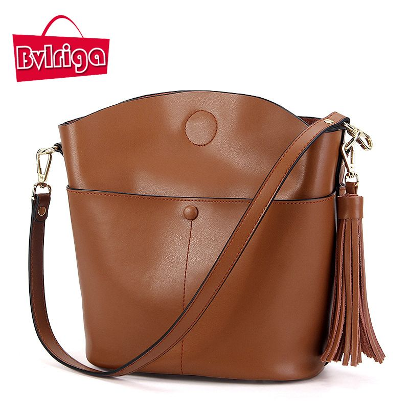 641be2a273 Price tracker and history of LOVMAXI New Arrival Genuine Leather Women  Tassel Bags 2017 Ladies Handbag Shell Cross Body Bag Shoulder Tote Fashion