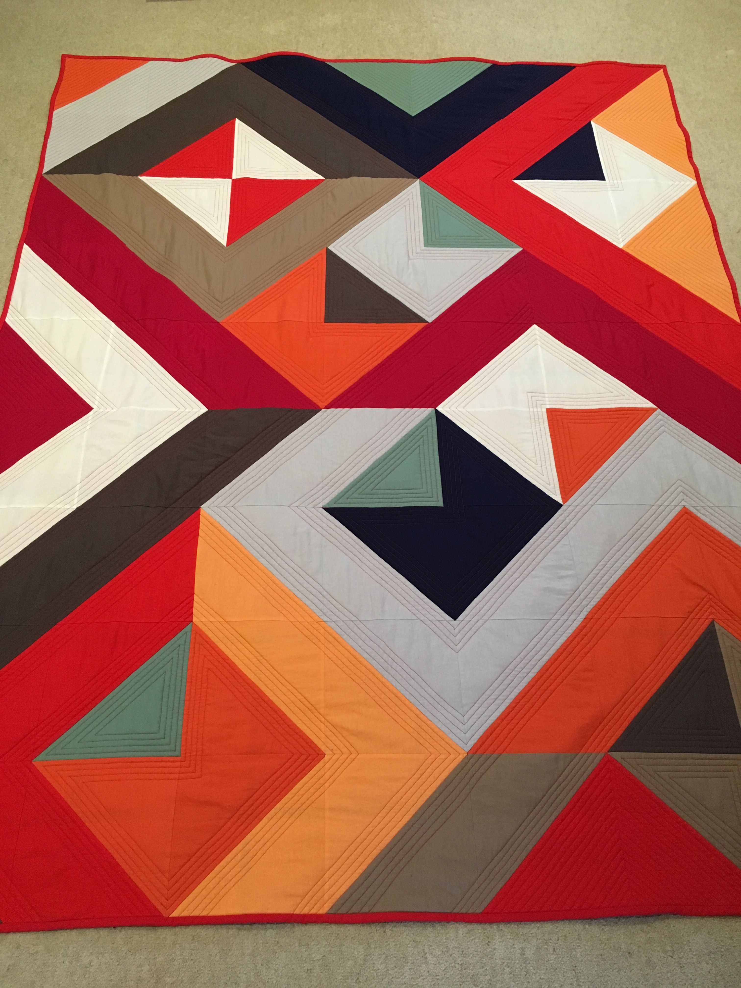 Ryan S Quilt Modern Quilt Patterns Colorful Quilts