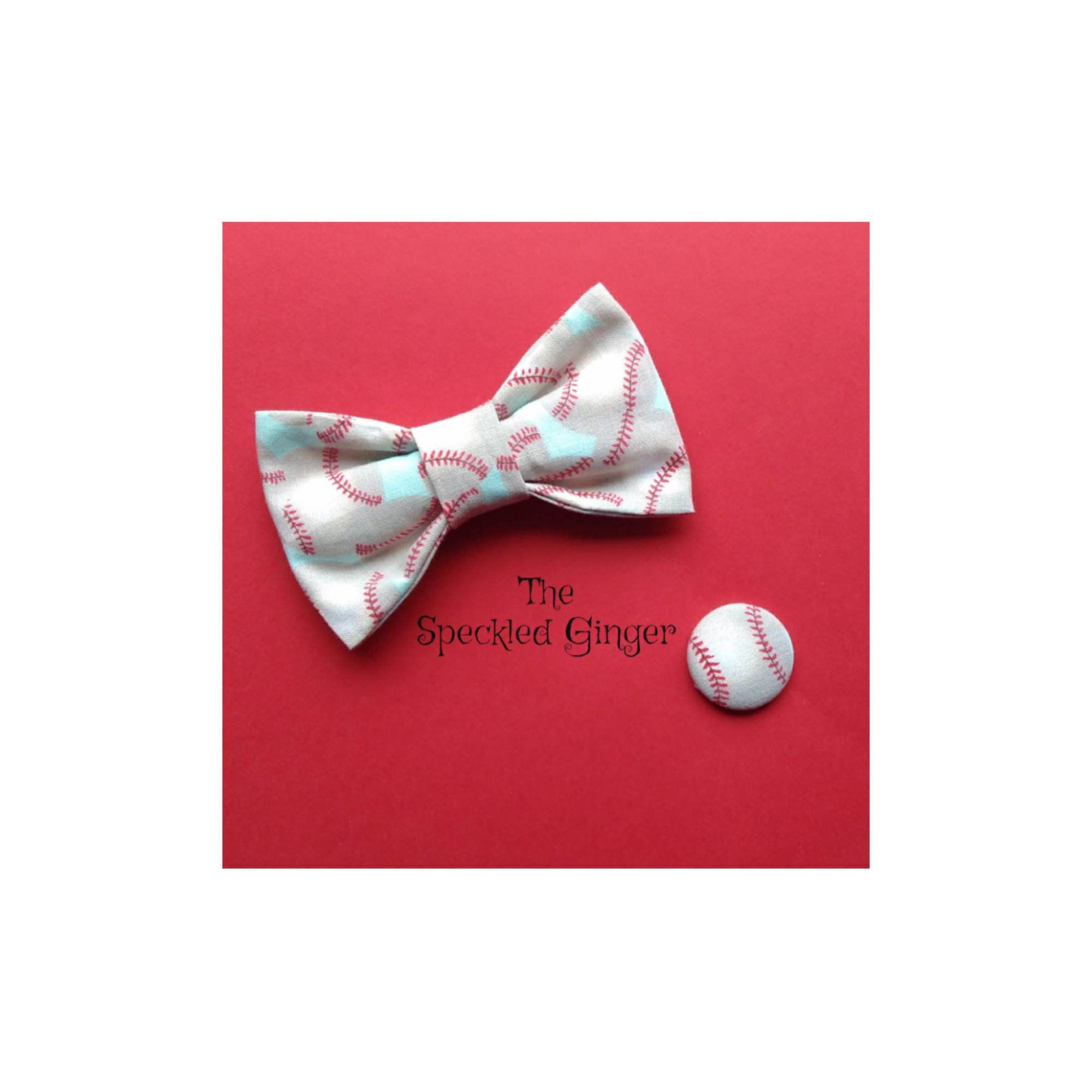 New Boys Youth Baseball Pre-Tied Adjustable Cotton Bow Tie