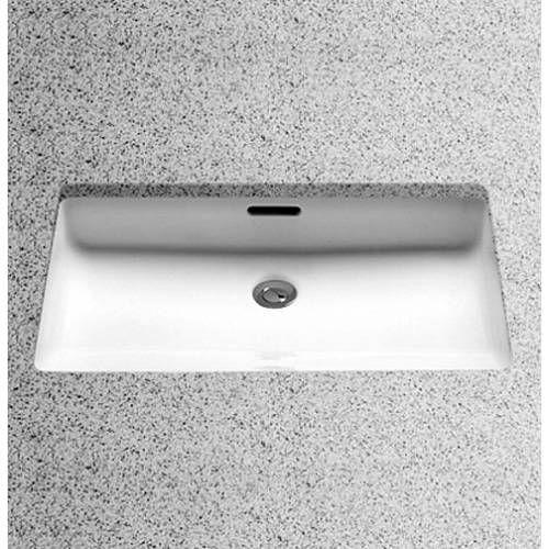 Single Bathroom Sinks And Vanities With Undermount Sink Made Of Porcelain  And Granite Top Vanity