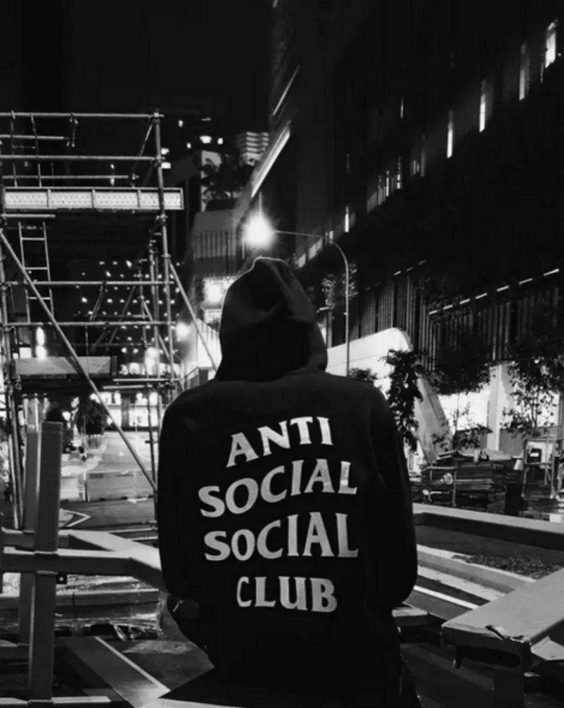 Anti Social Social Club Hoodie 4 Colors Ogv Anti Social Social Club Hoodie Anti Social Anti Social Social Club