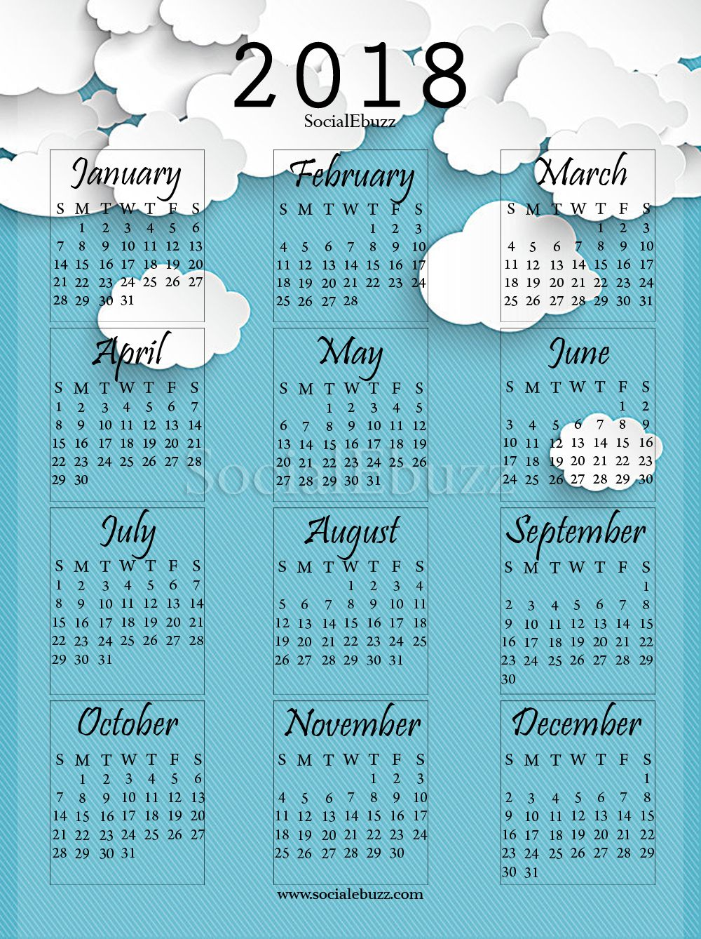 download calendar word