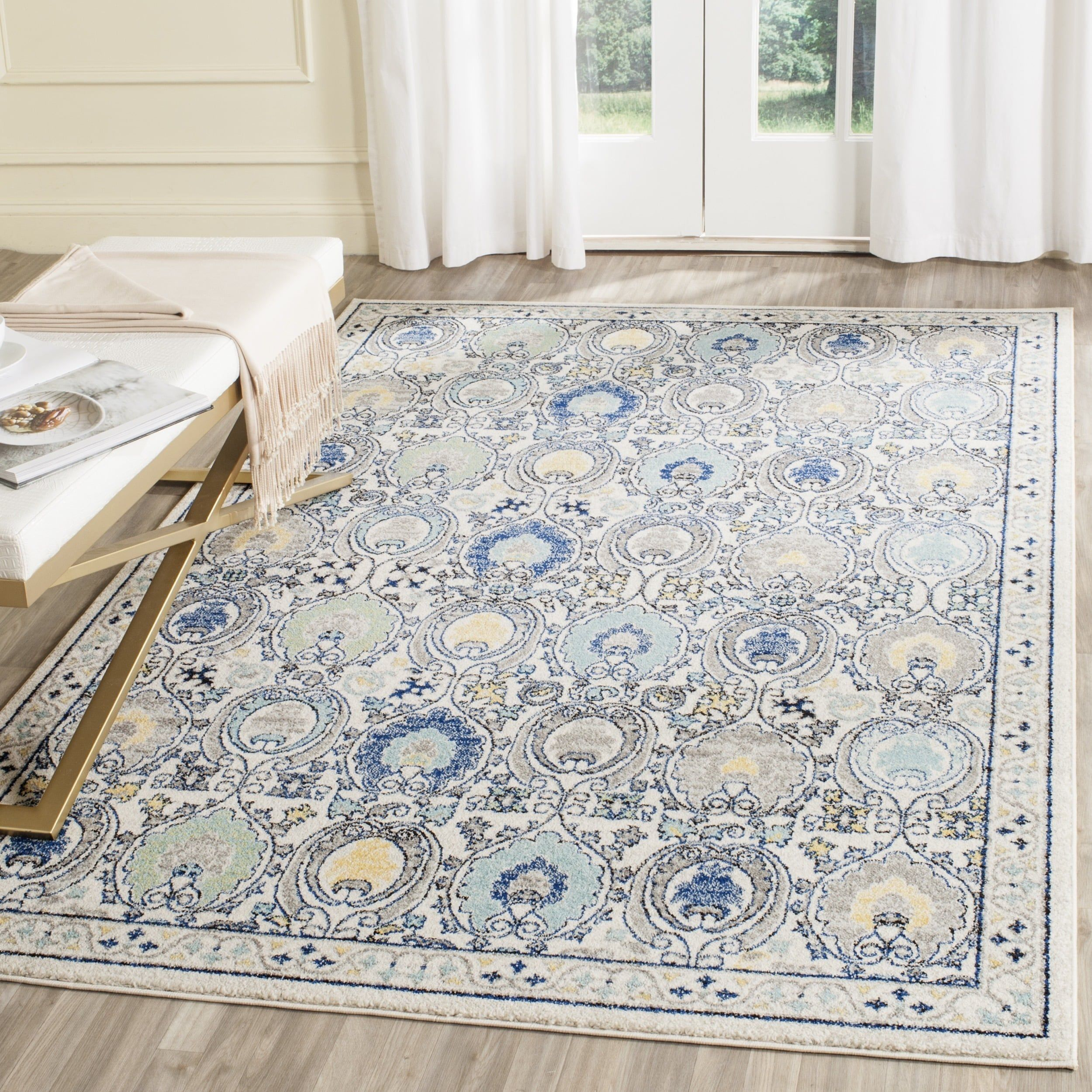 home ships safavieh x canada cream product garden overstock tunisia light rug blue to