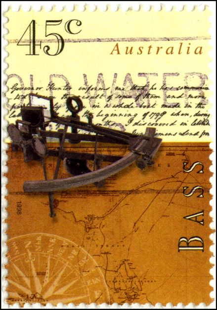 45 Cent Australia Stamp George Bass Commemorative Issue