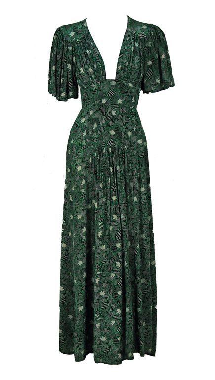Dress, Ossie 'clark, 1970's.