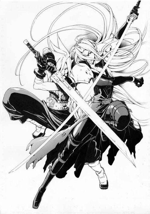 Cloud Vs Sephiroth Final Fantasy Stuff Final Fantasy Art