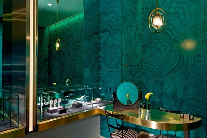 英国伦敦Delfina Delettrez珠宝商店设计//A 设计圈 展示 设计时代网-Powered by thinkdo3