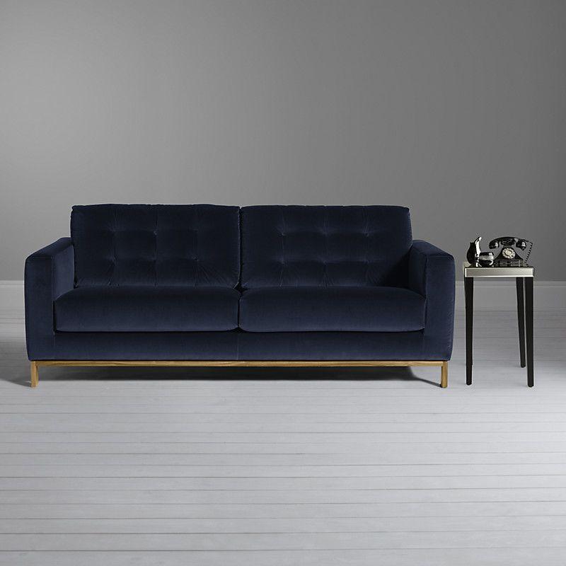 John Lewis Odyssey Large Sofa, Marco Sapphire Blue. I LOVE this sofa ...