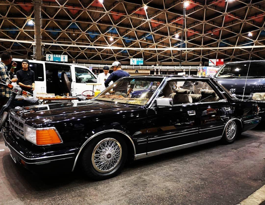 Nfk Motoyanさんはinstagramを利用しています かっこよすぎてツラい W Cpw Cpwskateshop オフラインミーティング10 Y30前期ブロアム 車 黒 スカイライン ジャパン 旧車