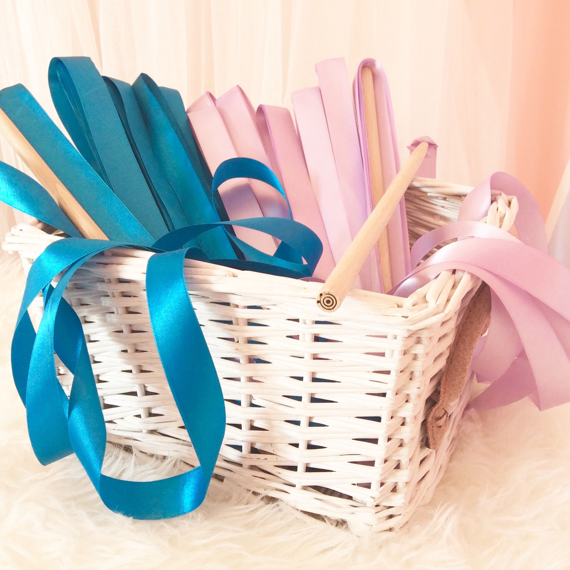 Gymnastics ribbon wands Birthday party favors wwwinstagramcom