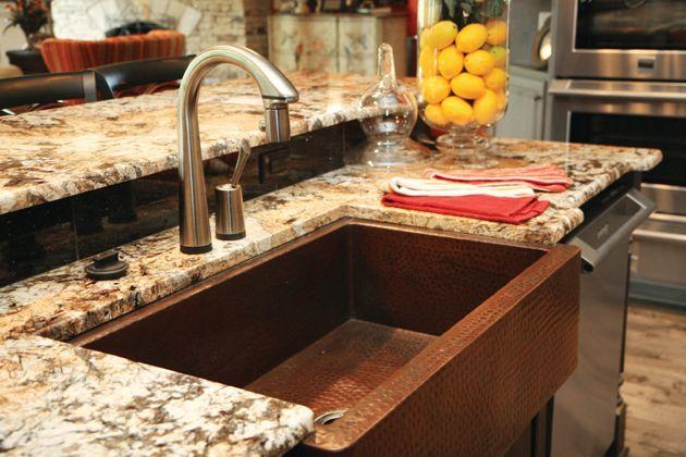 Cincinnatistoneworks Stone Kitchen Housetrends Gold Granite