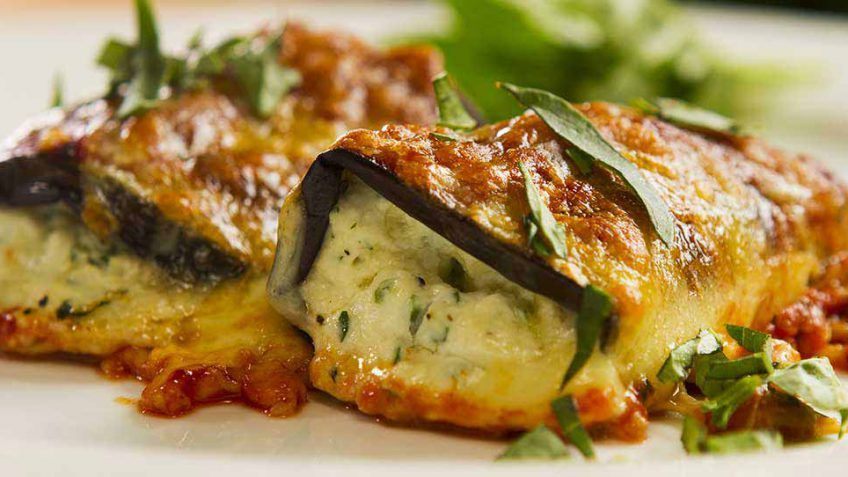 Eggplant Rollatini – Easy Meals with Video Recipes by Chef Joel Mielle | Vegetarian Meals ...
