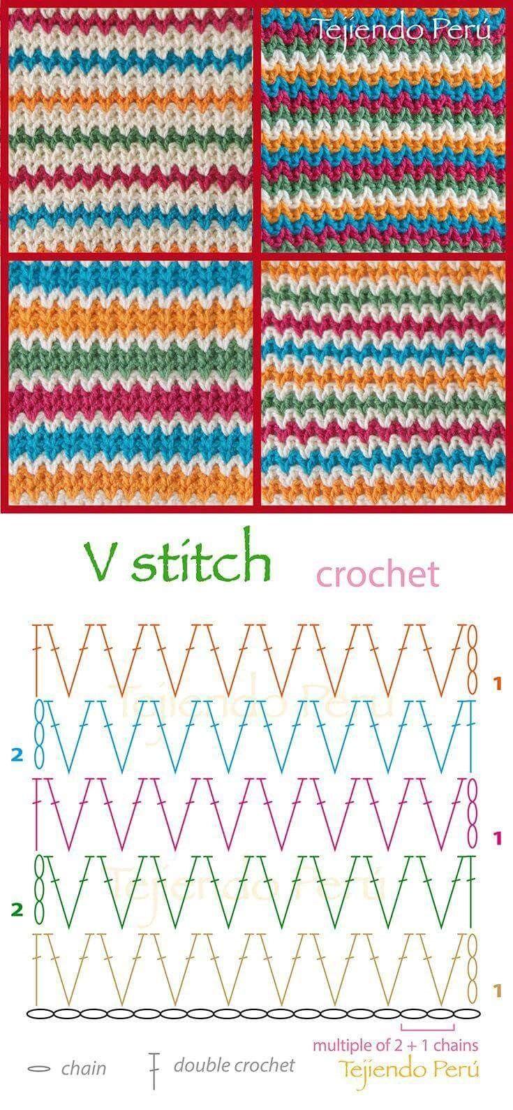 Pin de 유아린 en 코바늘 | Pinterest | Croché, Ganchillo y Ganchillo ...