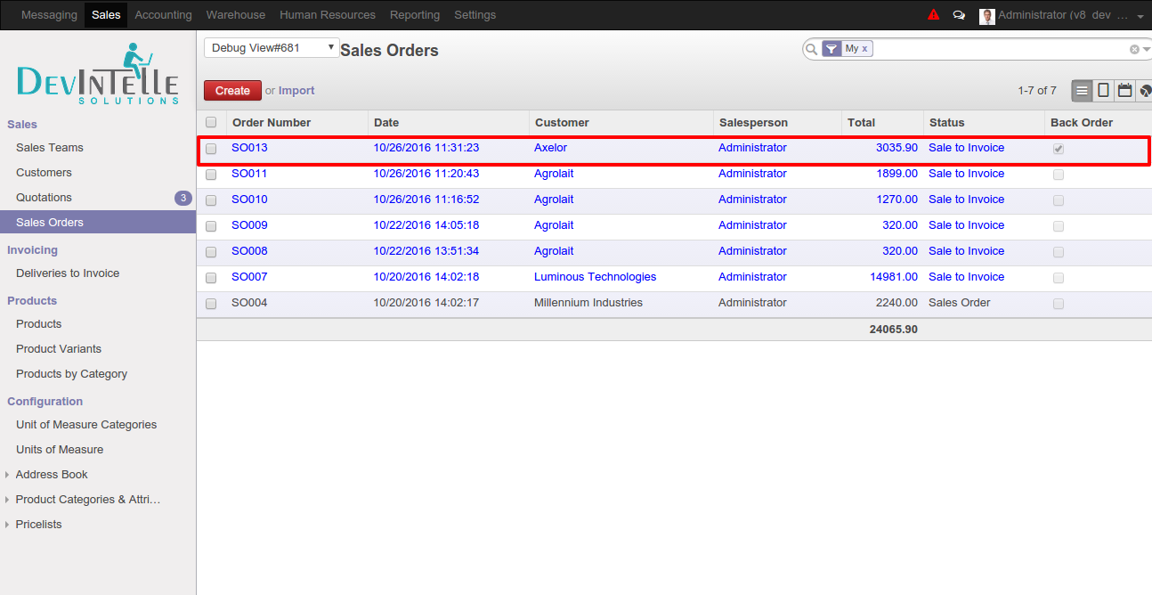 Odoo Back Order Status - Sale Order - Back Order status on