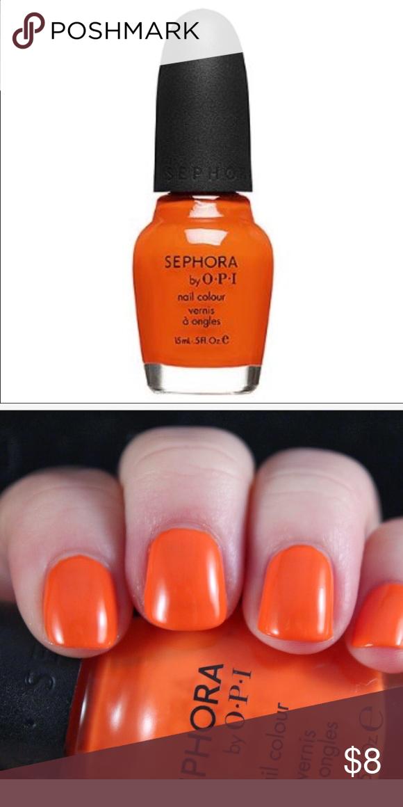 SEPHORA BY OPI Tangerine Nail Polish *Hi Def* New Save on bundles! This