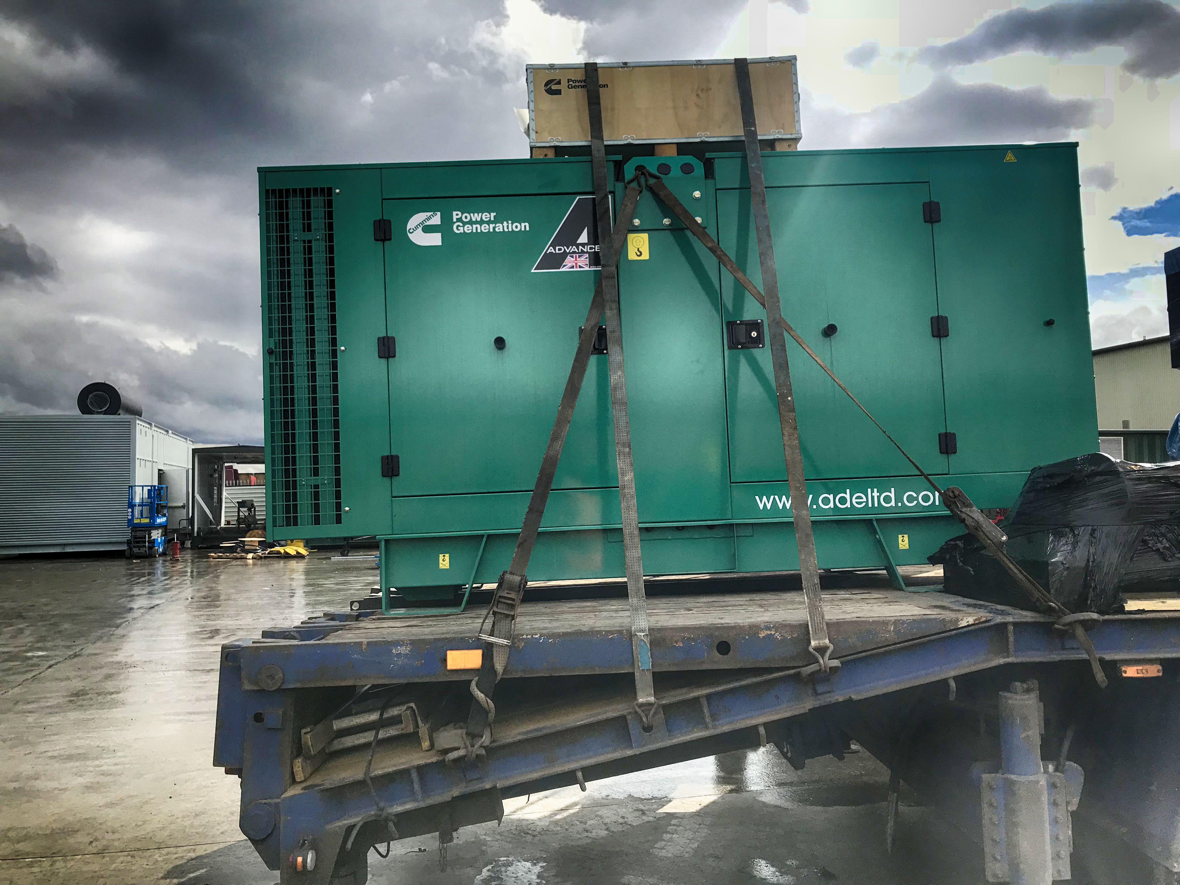 Water Power Cummins 100 kVA DieselGenerator Diesel
