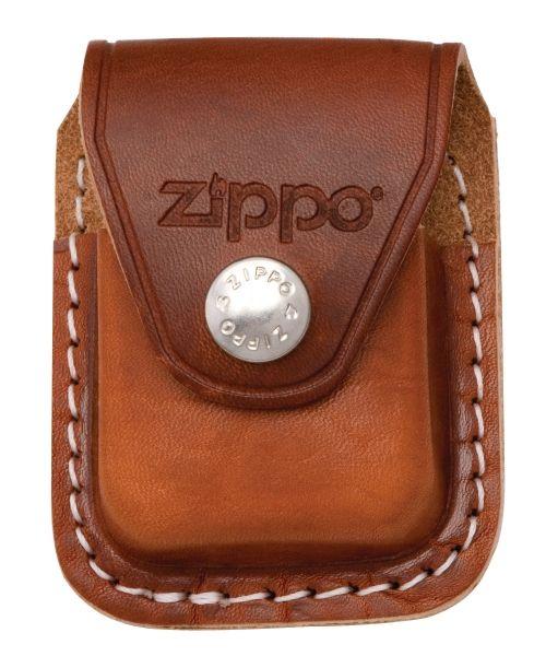 Zippo lighter pouch - brun