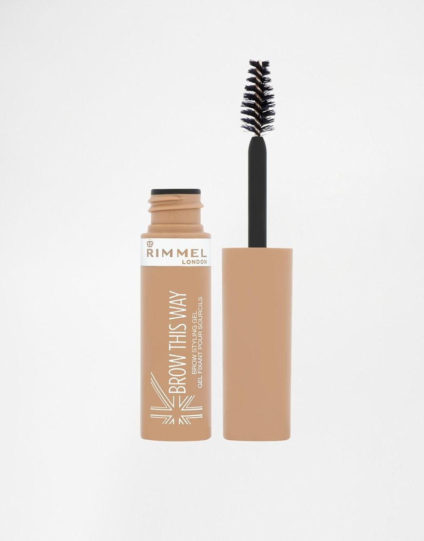 Rimmellondonbrowthiswayeyebrowgel Make Up Pinterest