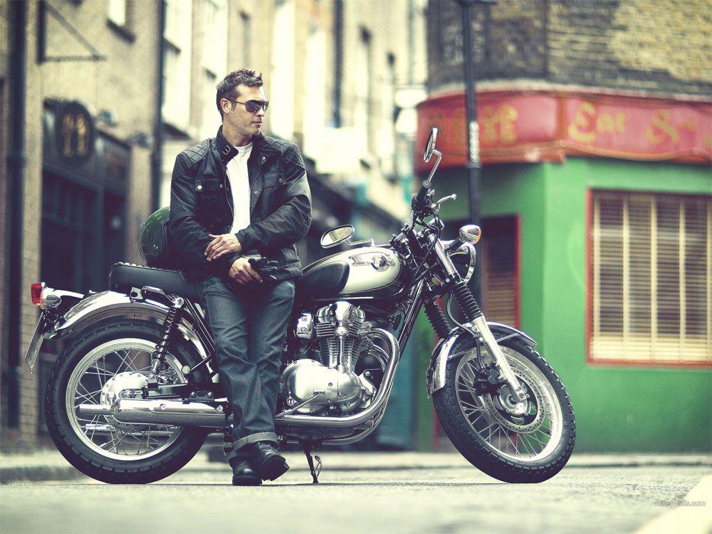 Kawasaki W800 1024 X 768 Wallpaper Motorbikes Kawasaki W800