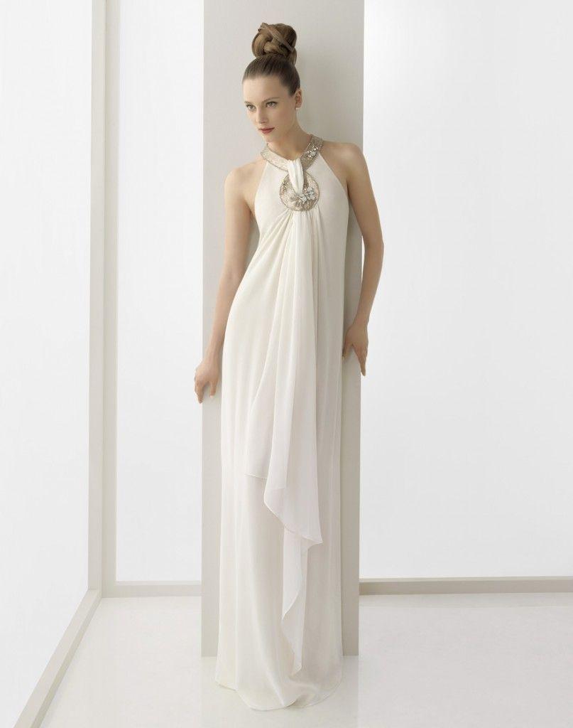 vestido de novia estilo romano | Puede comprobar el vestido de novia ...