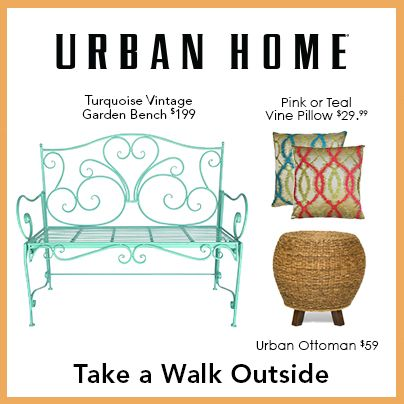 Dress Up Your Garden Or Patio With Urban Home Exclusive Outdoor Furniture And Accessories