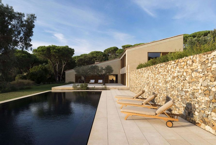 Architekten Villa In Saint Tropez