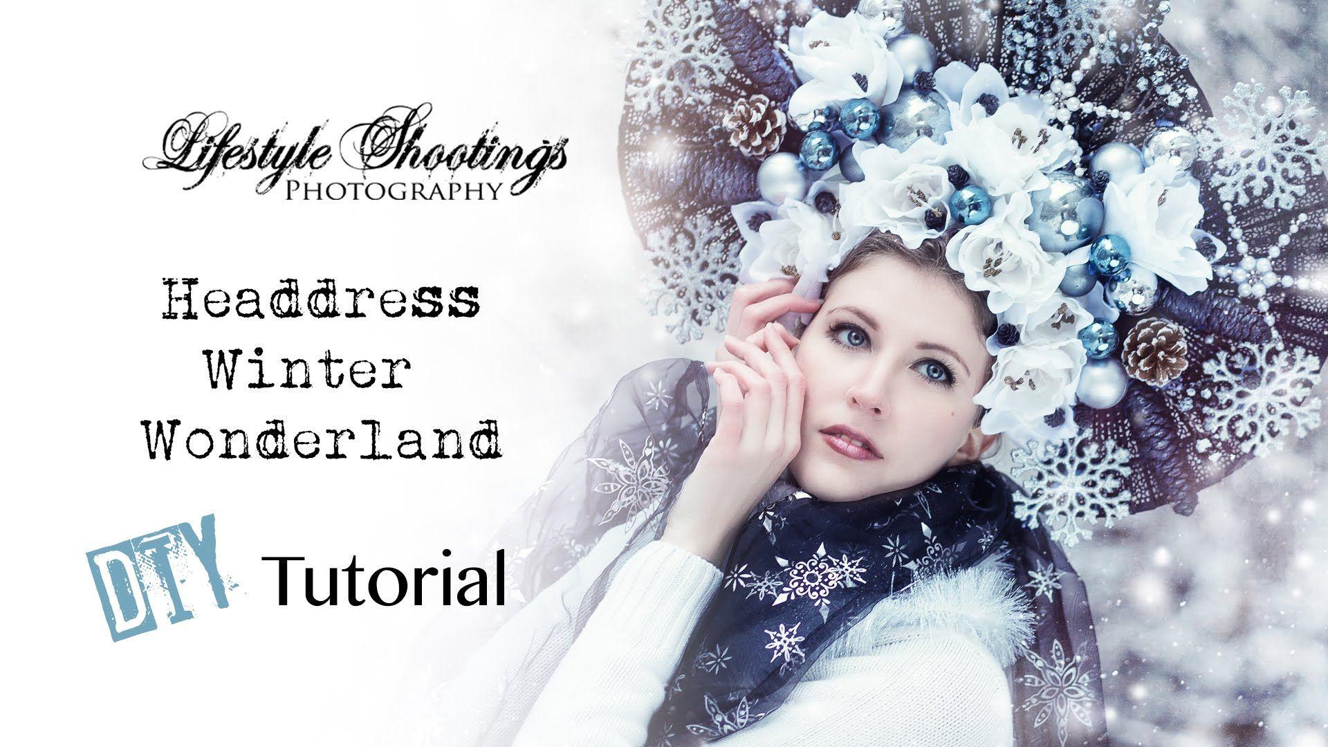 Headdress Tutorial - Winter Wonderland
